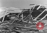 Image of Tests of incendiary bombs against wooden structures Florida United States USA, 1945, second 44 stock footage video 65675051711