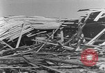 Image of Tests of incendiary bombs against wooden structures Florida United States USA, 1945, second 45 stock footage video 65675051711