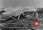 Image of Tests of incendiary bombs against wooden structures Florida United States USA, 1945, second 47 stock footage video 65675051711