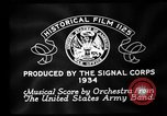 Image of Franklin D Roosevelt establishes CCC United States USA, 1933, second 6 stock footage video 65675051740
