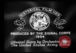 Image of Franklin D Roosevelt establishes CCC United States USA, 1933, second 8 stock footage video 65675051740
