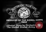 Image of Franklin D Roosevelt establishes CCC United States USA, 1933, second 9 stock footage video 65675051740