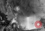 Image of Steel workers silhouetted against fog United States USA, 1943, second 32 stock footage video 65675051747