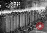 Image of Steel workers silhouetted against fog United States USA, 1943, second 34 stock footage video 65675051747