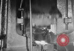 Image of Steel workers silhouetted against fog United States USA, 1943, second 46 stock footage video 65675051747