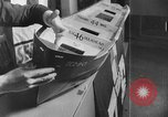 Image of Henry Kaiser demonstrates prefabricated ship assembly United States USA, 1942, second 5 stock footage video 65675051748