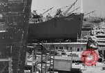 Image of Henry Kaiser demonstrates prefabricated ship assembly United States USA, 1942, second 11 stock footage video 65675051748
