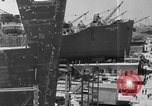 Image of Henry Kaiser demonstrates prefabricated ship assembly United States USA, 1942, second 12 stock footage video 65675051748