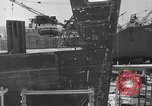 Image of Henry Kaiser demonstrates prefabricated ship assembly United States USA, 1942, second 14 stock footage video 65675051748