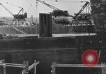 Image of Henry Kaiser demonstrates prefabricated ship assembly United States USA, 1942, second 16 stock footage video 65675051748