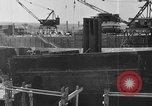 Image of Henry Kaiser demonstrates prefabricated ship assembly United States USA, 1942, second 17 stock footage video 65675051748
