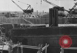 Image of Henry Kaiser demonstrates prefabricated ship assembly United States USA, 1942, second 18 stock footage video 65675051748