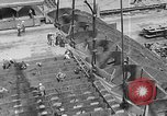 Image of Henry Kaiser demonstrates prefabricated ship assembly United States USA, 1942, second 21 stock footage video 65675051748