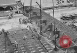 Image of Henry Kaiser demonstrates prefabricated ship assembly United States USA, 1942, second 22 stock footage video 65675051748