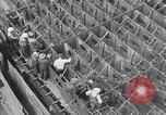 Image of Henry Kaiser demonstrates prefabricated ship assembly United States USA, 1942, second 23 stock footage video 65675051748