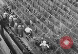 Image of Henry Kaiser demonstrates prefabricated ship assembly United States USA, 1942, second 24 stock footage video 65675051748