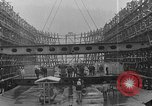 Image of Henry Kaiser demonstrates prefabricated ship assembly United States USA, 1942, second 25 stock footage video 65675051748