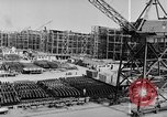 Image of Henry Kaiser demonstrates prefabricated ship assembly United States USA, 1942, second 41 stock footage video 65675051748