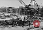 Image of Henry Kaiser demonstrates prefabricated ship assembly United States USA, 1942, second 42 stock footage video 65675051748
