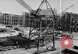 Image of Henry Kaiser demonstrates prefabricated ship assembly United States USA, 1942, second 43 stock footage video 65675051748