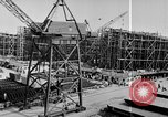 Image of Henry Kaiser demonstrates prefabricated ship assembly United States USA, 1942, second 44 stock footage video 65675051748