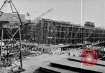 Image of Henry Kaiser demonstrates prefabricated ship assembly United States USA, 1942, second 45 stock footage video 65675051748