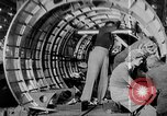 Image of Henry Kaiser demonstrates prefabricated ship assembly United States USA, 1942, second 49 stock footage video 65675051748