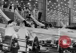 Image of Henry Kaiser demonstrates prefabricated ship assembly United States USA, 1942, second 56 stock footage video 65675051748