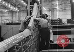 Image of Henry Kaiser demonstrates prefabricated ship assembly United States USA, 1942, second 58 stock footage video 65675051748