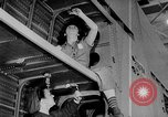 Image of Henry Kaiser demonstrates prefabricated ship assembly United States USA, 1942, second 62 stock footage video 65675051748