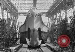 Image of USS Iowa launched in August 1942 New York City USA, 1942, second 25 stock footage video 65675051750
