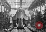 Image of USS Iowa launched in August 1942 New York City USA, 1942, second 27 stock footage video 65675051750