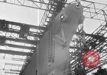 Image of USS Iowa launched in August 1942 New York City USA, 1942, second 34 stock footage video 65675051750