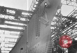 Image of USS Iowa launched in August 1942 New York City USA, 1942, second 35 stock footage video 65675051750
