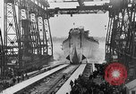 Image of USS Iowa launched in August 1942 New York City USA, 1942, second 50 stock footage video 65675051750