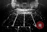 Image of Eleanor Roosevelt at Red Cross Rally in Madison Square Garden United States USA, 1943, second 7 stock footage video 65675051752