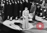 Image of Eleanor Roosevelt at Red Cross Rally in Madison Square Garden United States USA, 1943, second 10 stock footage video 65675051752