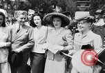 Image of Eleanor Roosevelt at Red Cross Rally in Madison Square Garden United States USA, 1943, second 45 stock footage video 65675051752