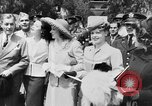 Image of Eleanor Roosevelt at Red Cross Rally in Madison Square Garden United States USA, 1943, second 46 stock footage video 65675051752