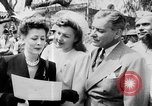 Image of Eleanor Roosevelt at Red Cross Rally in Madison Square Garden United States USA, 1943, second 50 stock footage video 65675051752