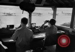 Image of USAAF air traffic controllers in a control tower United States USA, 1943, second 8 stock footage video 65675051756
