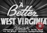 Image of WPA Great Depression project in West Virginia West Virginia USA, 1937, second 4 stock footage video 65675051766
