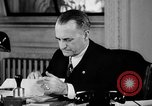 Image of Cordell Hull urging peace before World War II Washington DC USA, 1938, second 19 stock footage video 65675051781