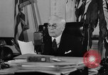 Image of Cordell Hull urging peace before World War II Washington DC USA, 1938, second 28 stock footage video 65675051781