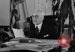 Image of Cordell Hull urging peace before World War II Washington DC USA, 1938, second 38 stock footage video 65675051781
