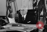 Image of Cordell Hull urging peace before World War II Washington DC USA, 1938, second 53 stock footage video 65675051781