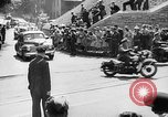 Image of Roosevelt and Churchill arriving at Quebec Conference Quebec Canada, 1943, second 53 stock footage video 65675051785