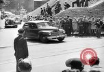 Image of Roosevelt and Churchill arriving at Quebec Conference Quebec Canada, 1943, second 55 stock footage video 65675051785