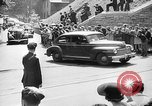 Image of Roosevelt and Churchill arriving at Quebec Conference Quebec Canada, 1943, second 56 stock footage video 65675051785