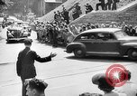 Image of Roosevelt and Churchill arriving at Quebec Conference Quebec Canada, 1943, second 57 stock footage video 65675051785